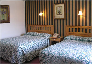 Rooms at Seasons Inn are clean and comfortable.