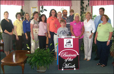 Seasons Inn is awarded Business of the Month