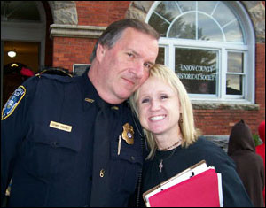 Chief Carroll and Colleen